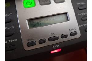 Б/у принтер сканер МФУ БФП Samsung SCX-5530FN USB cable + 2 картридж