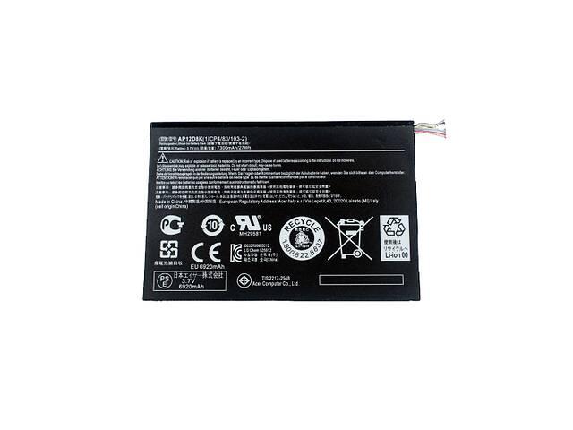 купить бу Батарея для планшета Acer KT.0020G.001 (Iconia Tab W510, W510P, W511, W511P, A3-A10, AP12D8K Series) 3.7V 7300mAh в Харькове