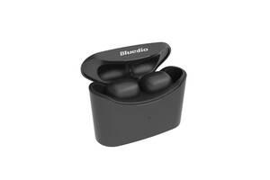 Беспроводные миниатюрные наушники Bluedio T-elf mini Air pod Bluetooth 5.0 Black