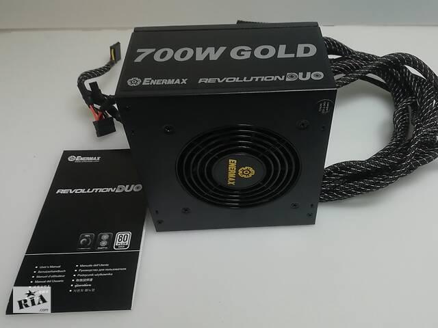 купить бу Блок питания 700Вт Enermax Revolution DUO 80 Plus Gold (ERD700AWL-F) в Киеве