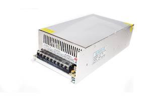 Блок питания адаптер 12V 50A Metall Kronos S-600-12 (gr_005903)