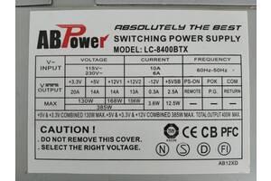 Блок питания AB Power 400W