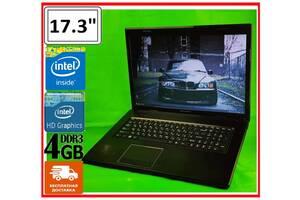 """БОЛЬШОЙ 17.3"""" + SSD. НАДЕЖНЫЙ ноутбук. Гарантия + БЕСПЛАТНАЯ доставка!"""