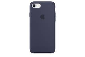 Чохол Apple Silicone Case для iPhone 7 Midnight Blue (1649)