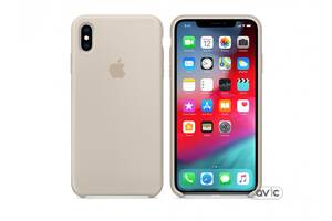 Чехол для Apple iPhone XS Max Silicone Case Stone (MRWJ2)
