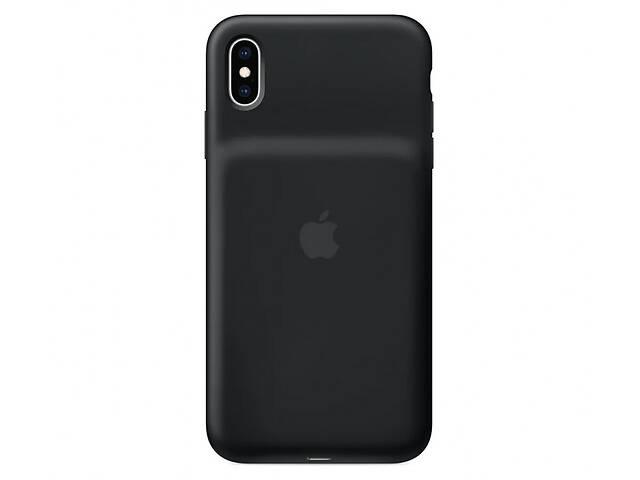 купить бу Чехол для Apple iPhone XS Max Smart Battery Case Black (MRXQ2) в Киеве
