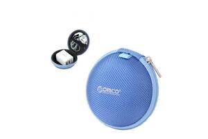 Чехол для хранения спортивных наушников ORICO Blue