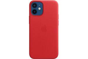 Чехол для моб. телефона Apple iPhone 12 mini Leather Case with MagSafe - (PRODUCT)RED (MHK73ZE/A)