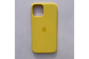 Чехол Silicone Case для Apple iPhone 11 Canary Yellow
