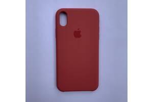 Чехол Silicone Case для Apple iPhone XR Strawberry