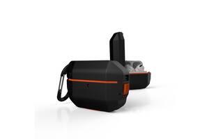 Чехол UAG для Apple Airpods Pro Hardcase, Black/Orange
