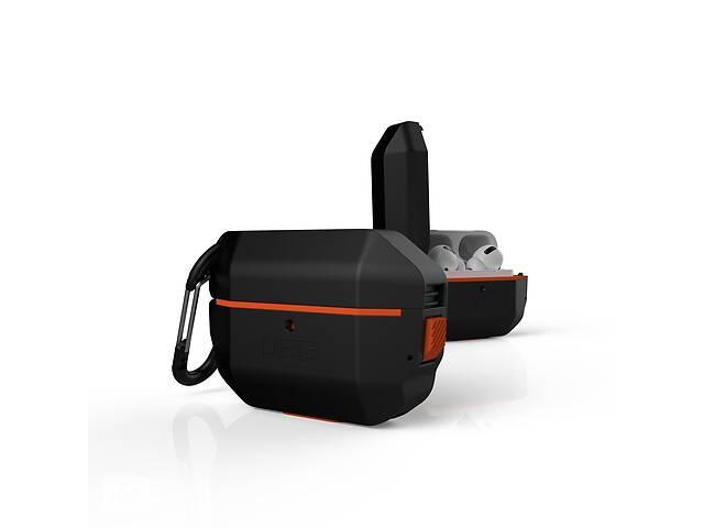 продам Чехол UAG для Apple Airpods Pro Hardcase, Black/Orange бу в Киеве