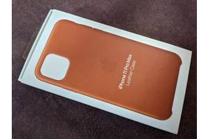 Чохол для iPhone 11 Pro Max Apple Leather Case MX0D2ZM/A
