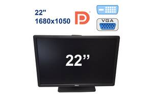 "Dell P2213 / 22"" (1680x1050) TFT TN LED / DP, VGA, DVI, USB"