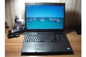 "Dell Vostro 1720 17.1"" WXGA+ LCD Intel E8135 2х2.66ГГц 3ГБ/160ГБ ВебКамера Новый Dell 90Вт Б/П Рабочая Батарея из США #1"