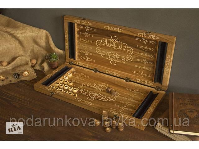продам Деревянные нарды EcoWalnut M бу в Киеве