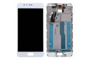 Дисплей (LCD) Meizu M5s (M612)/  M5s mini с сенсором белый