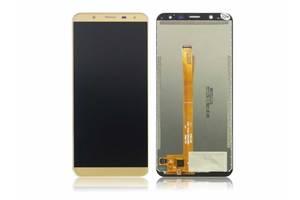 Дисплей (LCD) Oukitel K5000 с сенсором золотой