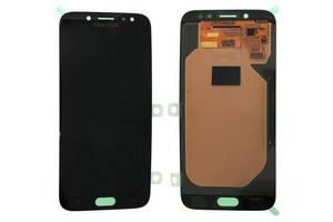 Дисплей с сенсором (тачскрином) Samsung Galaxy J7 J730 (2017) Black SuperAMOLED, GH97-20736A/ GH97-20801A (оригинал)