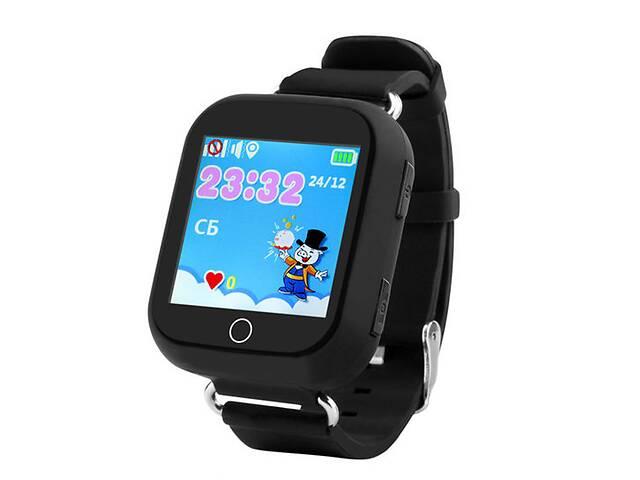 купить бу Детские умные GPS-часы  Smart Baby Watch Q100s Black в Самборе