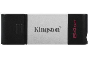 Flash Drive Kingston DT80 64GB, Type-C USB 3.2 (6586646)