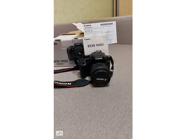 продам Фотоаппарат  Canon1000 D бу в Виннице