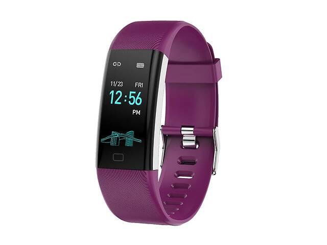 Фитнес браслет Lemfo F07 Max с измерением давления Фиолетовый- объявление о продаже  в Киеве