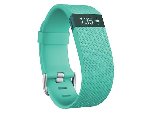 продам Фитнес трекер с оптическим пульсометром Fitbit Charge HR (Large/turquoise) бу в Полтаве