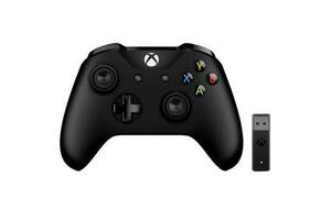 Геймпад Microsoft Xbox One Controller + Wireless Adapter for Windows 10 (4N7-00003)