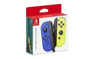 Геймпад Nintendo Nintendo Blue/Neon Yellow Joy-Con Left/Right