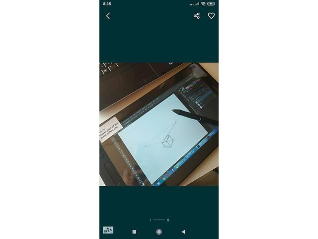 купить бу Графический монитор Huion Canvas Pro 13 в Ивано-Франковске