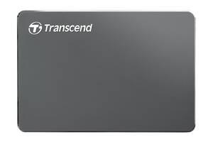 HDD накопитель Transcend StoreJet 25C 2TB (TS2TSJ25C3N) USB 3.0 Iron Gray (6326172)