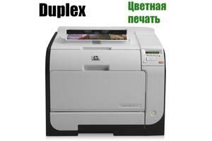 HP Color LaserJet Pro 400 M451dn / Лазерная цветная печать / 600x600 dpi / A4 / 20 стр. мин / Дуплекс / USB 2.0
