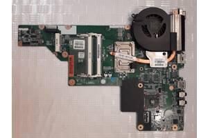 HP CQ43 материнская плата с системой охлаждения 657324 - AMD E300