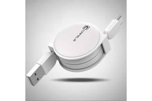 Кабель быстрой зарядки Cafele Type C White (SD3-06-04)
