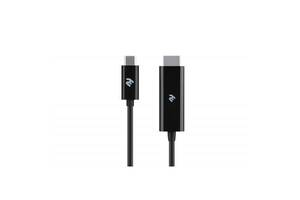 Кабель мультимедийный USB Type-C to HDMI 1.8m 2E (2E-W1706)