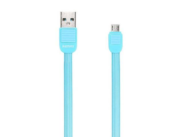 купить бу Кабель Remax Micro USB Puff RC-045m 1 м Blue (312203) в Киеве