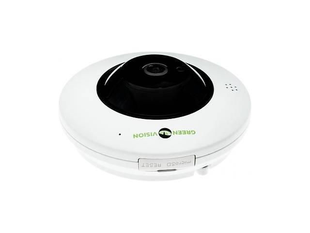 Камера видеонаблюдения GreenVision GV-075-IP-ME-DIА20-20 (360) POE (6597)- объявление о продаже  в Харькове