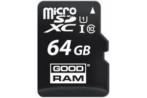 Карта памяти Goodram microSDHC 64GB Class 10 UHS I + ad (Код товара:16124)