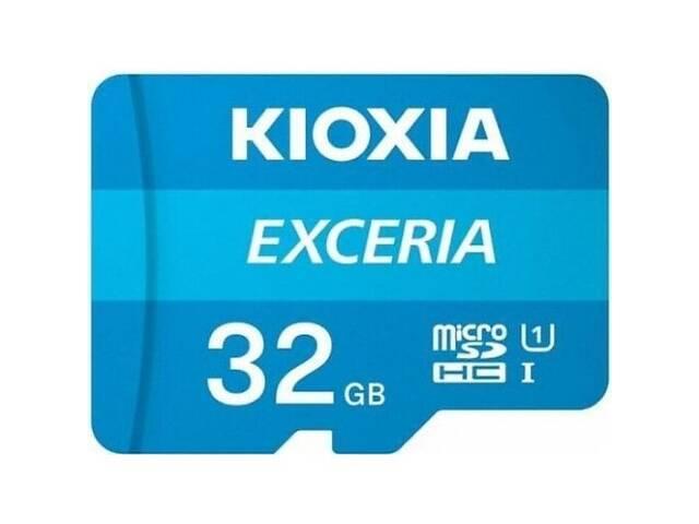 Карта памяти Kioxia Exceria microSDHC 32GB Class 10 UHS I + ad (Код товара:16273)- объявление о продаже  в Харькове
