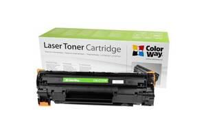 Картридж ColorWay для CANON 725 Univ. + тонер TH-1005 (3шт) (CW-C725M/TH-1005)