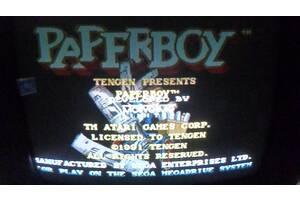 Картридж для sega paperboy