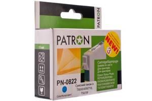Картридж PATRON для EPSON R270/290/390/RX590 CYAN (PN-0822) (CI-EPS-T08124-C3-PN)