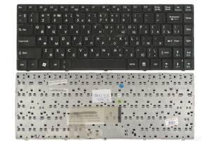 Клавиатура MSI Wind (U100) Black, RU