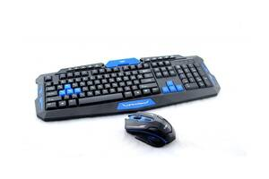 Клавиатура игровая беспроводная для ПК UKC НК-8100 + мышь