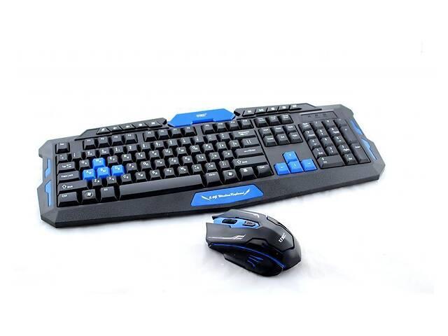 продам Клавиатура игровая беспроводная для ПК UKC НК-8100 + мышь бу в Харькове