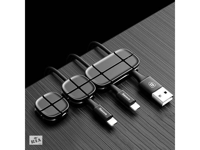 Комплект кабельных органайзеров Baseus Black, 3 штуки- объявление о продаже  в Запорожье