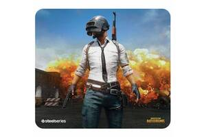 Коврик для мышки SteelSeries QcK+ PUBG Erangel Edition (63807)