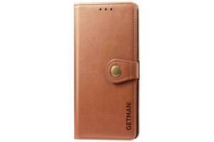 Кожаный чехол книжка GETMAN Gallant (PU) для Samsung Galaxy A41