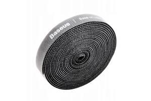 Лента - кабельный органайзер Baseus Circle Velcro strap 100 см. Gray